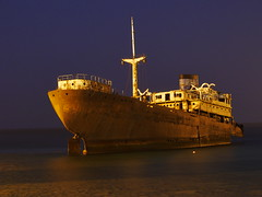 Shipwreck Telamon 4 (evansmark425) Tags: coastal ship shipwreck boat old rusty abandoned lanzerote sea