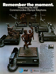 1984 AT&T Olympic Telephone ad (Tom Simpson) Tags: vintage ads advertising telephone ad advertisement electronics 1984 olympic collectible olympics 1980s att vintagead vintageads