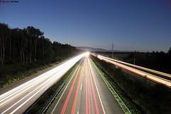 IMG_2402 (u.wittwer) Tags: strasse zug autobahn a1 belichtung beleuchtung lichter rcklichter widi koppigen utzenstorf