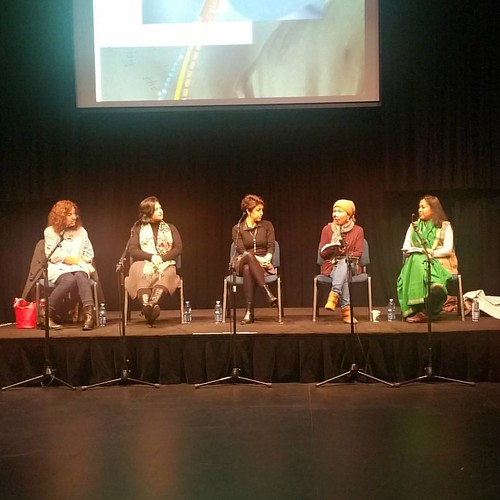 Listening to @nadianiaz at the Lost or Found in Translation panel at @footscrayarts #WestWriters Forum