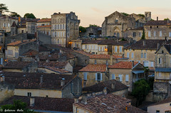 DSC_3927 (fabiennethelu) Tags: architecture toits ville roofs village france nikon saintemilion