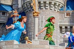 Dream Along With Mickey (disneylori) Tags: peterpan disney disneyworld characters wdw waltdisneyworld wendy magickingdom disneycharacters dreamalongwithmickey facecharacters