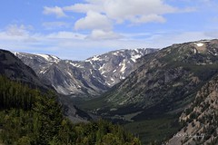 The Look Out (woodysmith4341) Tags: blue sky clouds redlodge montana beartooth snow
