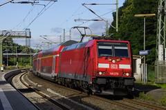 DB Regio 146 279 met dubbeldekker richting Köln Hbf in station Stolberg (Rheinland) 30-07-2016 (marcelwijers) Tags: db regio 146 279 met dubbeldekker richting köln hbf station stolberg rheinland 30072016 bahnhof re regional express 91 80 6146 2795 ddb bombardier traxx p160 ac2 35089 2015