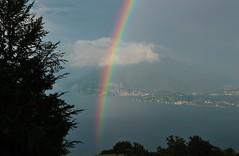 (Flavio Calcagnini) Tags: arcobaleno rainbow italia italy lago lake maggiore stresa gignese alpino paesaggio landscape flavio calcagnini cloud storm