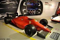 Tipo 637 Formula Indy Car Ferrari - Galleria Ferrari - Maranello 2015 (Ferrari-live / Franck@F-L) Tags: tipo 637 formula indy car ferrari dsc0415