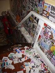 Crusty Creatures 2 (andres musta) Tags: crusty creatures crustycreatures2 stickerart graffiti toronto art show exhibition