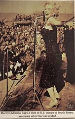 Giving Her All (DGS Photography) Tags: missouri branson veteransmemorialmuseum museum art photograph 1955 korea uso show marilynmonroe icon actress sexsymbol blond