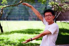 Graduation 2016-6 (Enix Xie) Tags: taiwan taichung wufeng asiauniversity  graduation people life kodakcolorplus200 kodak nikon nikkor filmcamera  f2a nikonf2photomica photomic nikon55mmf28afmicro