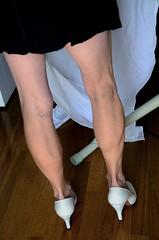 _DSC0052jj (ARDENT PHOTOGRAPHER) Tags: calves muscular female woman flexing skinny mature milf gilf highheels tiptoe
