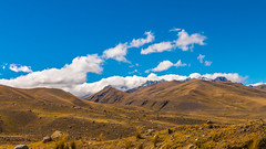 Golden hills of Huaraz Peru (P-B-fotografie) Tags: huaraz peru5chavindehuantar canon landscape landschap mountains moutain nature peru sky snow snowtops wild wildlife