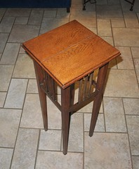 20160814_1938_401_PROJECT-table (EasyAim) Tags: woodtable repair plantstand colleyville usa