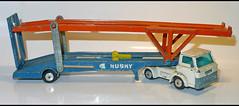 FORD D serie HOYNOR car transporter (2030) HUSKY L1110993 (baffalie) Tags: camion truck diecast toys jeux jouet miniature anglais uk