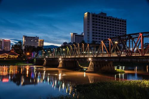 Iron Bridge - Aka Rainbow Bridge Chiang Mai