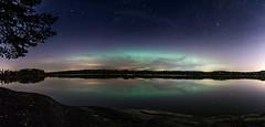 (Mika Tuomela) Tags: panorama space night auroras auroraborealis scenenry hauninen finland nikon d7100 longexposure stars nightsky
