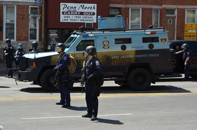 Baltimore Riot - W. North and Pennsylvania Avenues - April 28, 2015     (24)