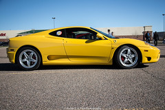 Profile (Hunter J. G. Frim Photography) Tags: yellow italian colorado 360 ferrari giallo modena supercar v8 ferrari360modena giallomodena