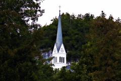 Slovenia III (Makro1) Tags: church nature europe religion slovenia bled eurotrip slovenija priroda crkva naturephotography religija evropa lakebled travelphotography panasonictm700
