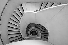 Tate Britain (lassmanac1) Tags: uk travel london westminster stairs britain staircase transportation escaleras spiralstaircase spiralstairs