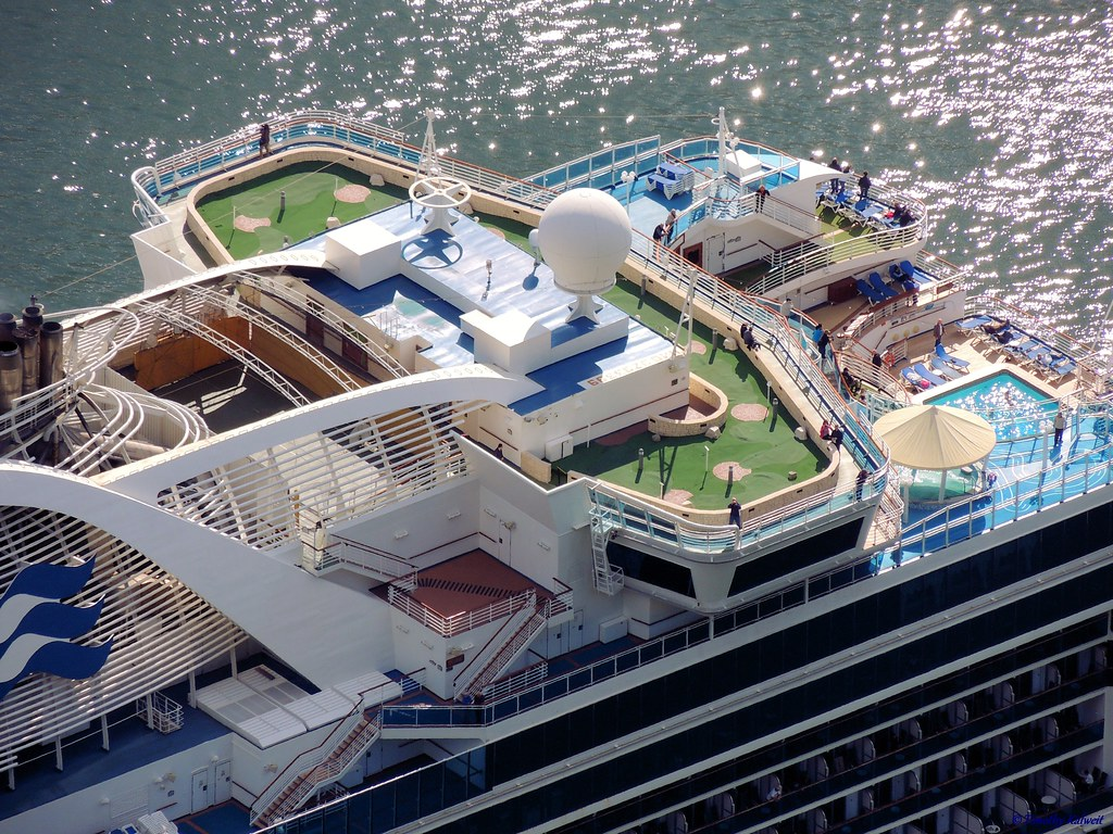 Crown Princess Pictures - Cruise Deck Plans