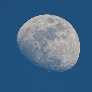 Waxing Gibbous Moon © (Explored)