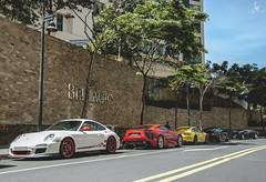 Taste The Rainbow! (Justin Young Photography) Tags: cars philippines 911 ferrari turbo porsche lfa lexus 991 gt3 997 512tr gt3rs