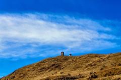 The Last Sentinel...Tonglu !! (sandy_photo) Tags: blue sky india nature clouds canon landscape clo sandakphu tonglu easternhimalayas eos1100d sandipsarkarphotography