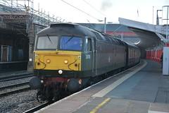 "British Railways Two-Tone Green Class 47/7, D1755 / 47773 (37190 ""Dalzell"") Tags: spoon brush crewe res duff sulzer britishrailways class47 type4 railnet 47161 47773 railexpresssystems 47541 class477 twotonegreen d1755"