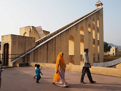 Jantar Mantar (DarkLantern) Tags: india candid streetphotography sundial observatory astronomy indien jaipur rajasthan inde pinkcity   jaisinghii