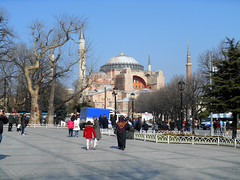 Agia Sofia (RobW_) Tags: turkey square march sofia istanbul tuesday sultanahmet hippodrome 2015 agia mar2015 24mar2015