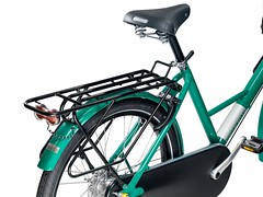 WorkCycles Fr8 Uni RAL6029 black carriers 2015 rear (@WorkCycles) Tags: green dutch bike bicycle groen frame universal fiets heavyduty fr8 transportfiets workcycles
