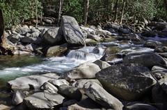 Smokey Mountains National Park 1 (cjaaron) Tags: park blue sky mountain tree nature water nationalpark rocks tn smokeymountain cjaaron