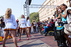 The Trojan Marching Band (USC | University of Southern California) Tags: campus la losangeles dancers usc marchingband universityofsoutherncalifornia fob festivalofbooks 2015 songgirls songleaders