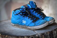 LostAndFound (jmishefske) Tags: tree kids found lost nikon shoes tennis stump april 2015 d800e