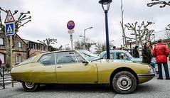 Citron SM (xwattez) Tags: auto old france car french automobile citroen sm citron voiture transports ancienne 2014 franaise vhicule rassemblement castelginest