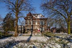 Dongen - Kunstpodium (grotevriendelijkereus) Tags: road street winter house snow holland home netherlands village sneeuw nederland center huis centrum brabant dorp noord straat dongen