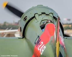 Polikarpov I-16 (Ignacio Ferre) Tags: madrid airplane nikon aircraft aviation military airshow avin fio mosca rata lecu cuatrovientos polikarpovi16 spanishairforce fundacininfantedeorleans