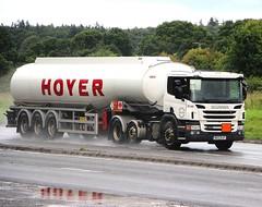SCANIA P440 - HOYER GROUP Huddersfield (scotrailm 63A) Tags: trucks tankers lorries
