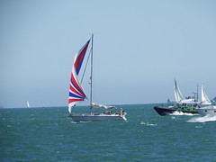 Portsmouth America's Cup Spectator Boats on the Solent (Nick.Bayes) Tags: cup spectator boats solent portsmouth americas