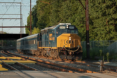 CSXT EMD GP40WH-2 #9969 @ Woodbourne, PA (Darryl Rule's Photography) Tags: buckscounty c770 c77027 csx csxt catenary diesel diesels emd eastbound geometrytrain july local pa pennsylvania reading readingrailroad summer sun train trains trentonsub w003 w00327 westbound woodbourne woodbournerd