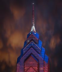 Liberty Place - Philadelphia PA (ADW44) Tags: storm philadelphia skyline clouds liberty place philly phillyfromthetop