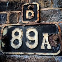 West Kensington station (Flamenco Sun) Tags: metal sign underground london rusty rust antique vintage old patina