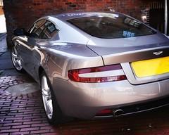 Aston Martin DB9 (S Cansfield) Tags: sports car silver lumix martin panasonic 20mm aston astonmartin db9 f17 m43 gx1 microfourthirds