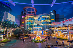 The Curve (edwards_sie) Tags: lighting blue colour mall tokina curve 116 d7000
