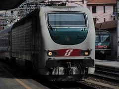 La Spezia (Liguria, Italy) (photobeppus) Tags: laspezia liguria central station stazione centrale railways trains locomotives trenitalia e402