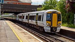 387113 (JOHN BRACE) Tags: 2014 bombardier derby built class 387 electrostar emu 387113 seen horley station thameslink white livery