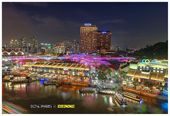 Clarke Quay @ Singapore River (wsboon) Tags: city travel cruise light sky holiday color tourism water architecture clouds composition buildings relax corporate design photo google search nikon singapore asia exposure cityscape view nocturnal skyscrapers heart perspective visit tourist calm explore photograph land destination serene cbd pimp tamron nocturne dri singapura clarkequay centralbusinessdistrict blending singaporeriver singaporecityscape masteratwork uniquelysingapore singaporecity peopleculture singaporecruise singaporelandscape d5300 100240mmf3545 singaporetouristattractions tamron100240mmf3545 nocommentsimplyperfectsingaporeview singaporefamouslandmarks