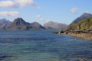 gorgeous days in Scotland: Black Cuillins, seen from Elgol