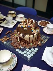 Mad Hatter's Tea-Party - 2 (the justified sinner) Tags: hat cake birmingham panasonic 17 20mm teacup madhatter saucer teaparty cityuniversity frankcooper gx7 schoolofjewellery justifiedsinner samchilton