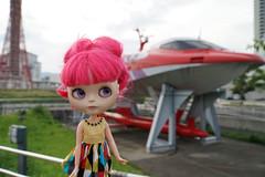 298/366 futuristic boat